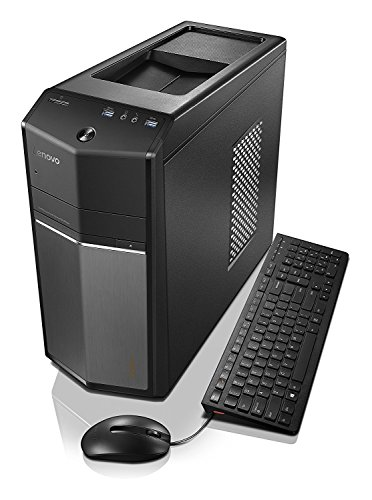 Lenovo Ideacentre 710-25ISH High Performance Gaming Desktop | Intel 2.7GHz i5-6400 Quad-Core | NVIDIA GeForce GTX 730 | 8GB RAM | 1TB + 8GB SSHD | USB keyboard & mouse | Windows 10 by Lenovo