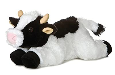 Aurora Plush 12 Flopsie May Bell Cow by Aurora Plush