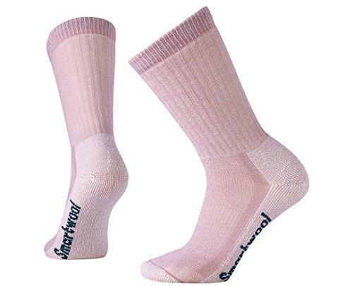 Smartwool Women's Hike Medium Crew Socks (Woodrose) Large