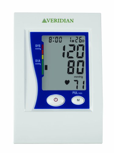 Veridian Automatic Digital Blood Monitor, Adult