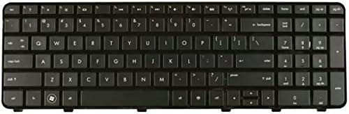 Laptop US Keyboard for HP Pavilion DV6-6023tx DV6-6024tx DV6-6026tx DV6-6027tx DV6-6029tx DV6-6030tx DV6-6033cl DV6-6034tx DV6-6036tx DV6-6037tx with Frame