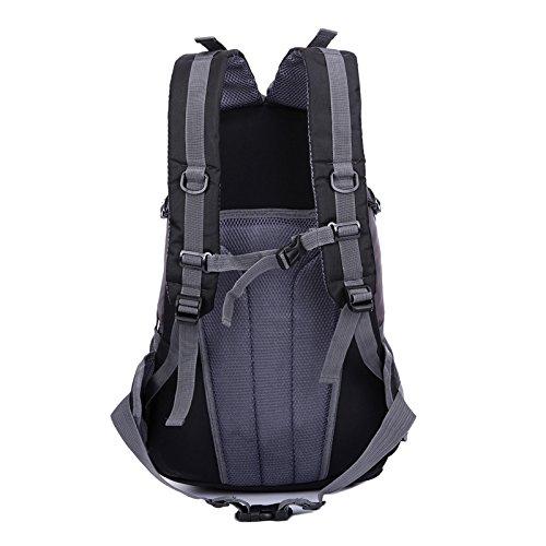 Mountaineering Bag Outdoor Männer und Frauen Schulter Rucksack nylon Wanderpackage Bergsteigen Taschen , orange