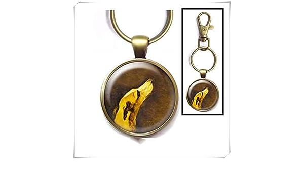 Heng Yuan Cheng Greyhound - Llavero con diseño de Galgo ...