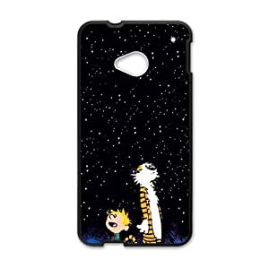 Dark night star boy and tiger Cell Phone Case for HTC One M7