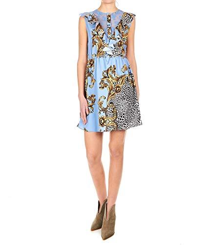 Vestido Poliéster Jeans W19009t0130v9837 Azul Mujer Liu YB8v7wx