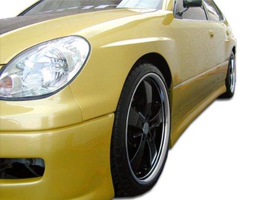 1998-2005 Lexus GS Series GS300 GS400 GS430 Duraflex Type W Side Skirts Rocker Panels - 2 (Racing Types Side Skirts)