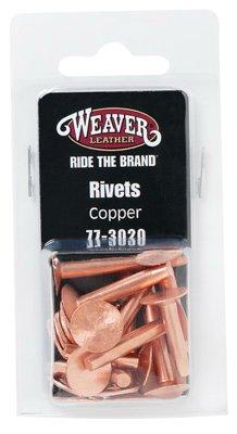 Weaver Leather 77-3020 Copper Rivets & Burrs, Assorted, 12-Pieces 4336864026