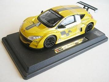 Amazon.com: Renault Megane Trophy gelb 1: 24 bburago: Toys ...