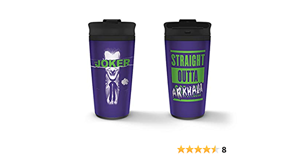 The Joker Metal Travel Mug