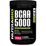 NutraBio BCAA 5000 Powder – 60 Servings (Watermelon) Review