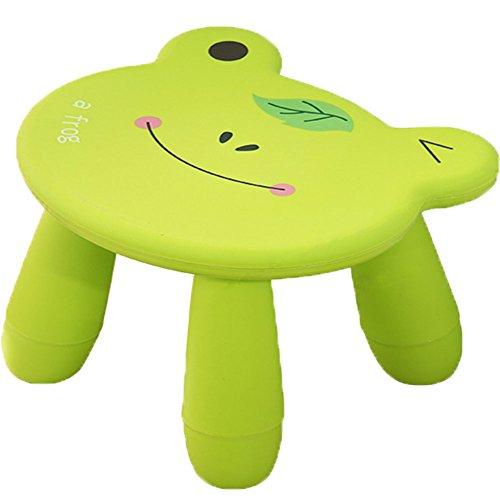 BOER INC Creative Kids Chair Stool Non Slip Step Stool for Kids and children(Frog)
