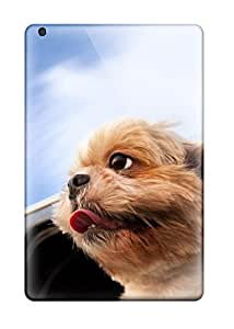 Tough Ipad CYQIdmg17797TBukX Case Cover/ Case For Ipad Mini/mini 2(cute Dog In The Wind Car Window Animal Dog)