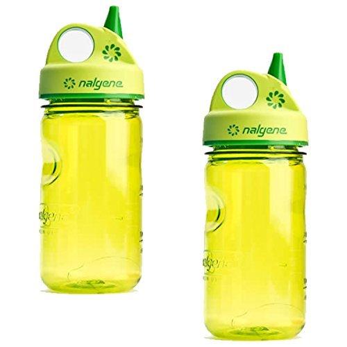 Grip N-gulp Spring (Nalgene Grip-n-Gulp - 2 Pack (Spring Green))