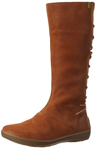 El Naturalista Nd16 Pleasant Bee, Botas para Mujer Marrón (Wood)
