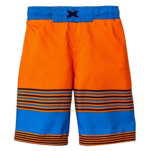 - Cat & Jack Boys' Swim Trunks (Orange Flash, X-Large)