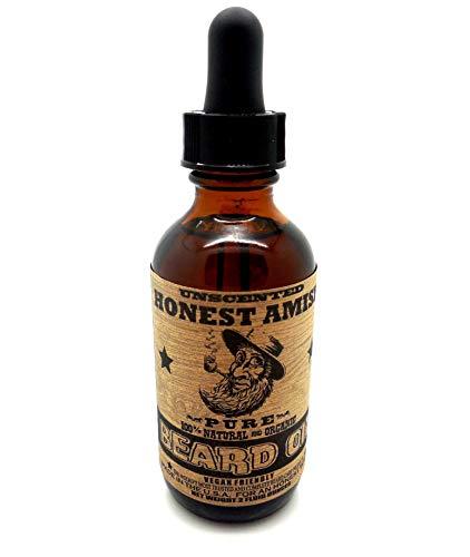 - Honest Amish - Pure Beard Oil - 2 Ounce - Fragrance Free
