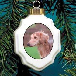 Christmas Ornament: Saluki