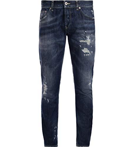 Lavato rotture Azul Mius con Jeans BLU DONDUP tS1wq