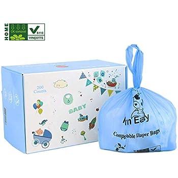 Amazon.com: MOM EASY Biodegradable and Compostable Diaper ...