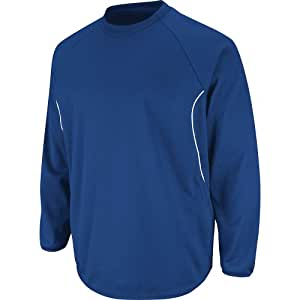 Majestic Athletic Majestic Youth Therma Base Tech Fleece Pullovers Royal M