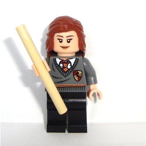 LEGO Harry Potter: Hermione Granger Minifigure with Tan Wand by - Hermione Harry Potter Lego