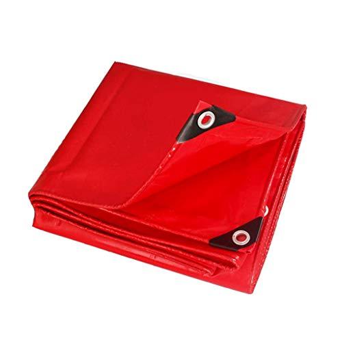 ブルーシート 厚みのある防水シート防水日焼け止め雨防水シートポンチョ防風布シェード布結婚式小屋赤 トラック荷台シート (Size : 2 m x 3 m)