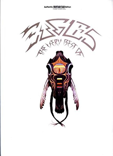 Tab Sheet Music Book - Eagles: The Very Best Of (Authentic Guitar-Tab Edition)