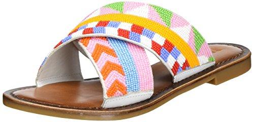Ankle Sandals 7440 Inuovo Strap White Women's FfqzwB4U