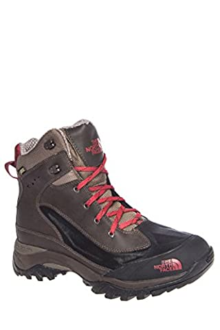 The North Face Chilkat Tech Boots - Men's Coffee Brown/Rosewood Red 9