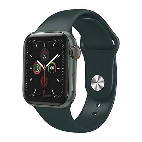 Amazon.com: PinShang W58 Smart Watch 1.3 IPS Full Touch ...