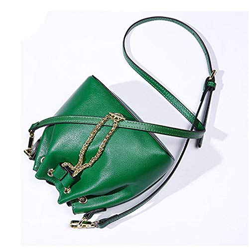 moda a tracolla pelle in a verde per donna tracolla tracolla Borsa con vzqItxRv
