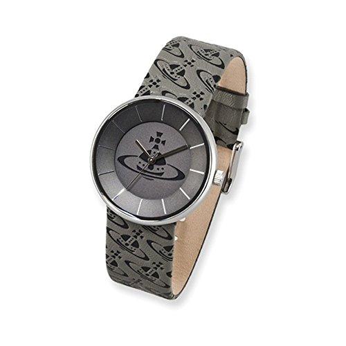 Unisex Vivienne Westwood Spirit Grey Logo Strap Watch