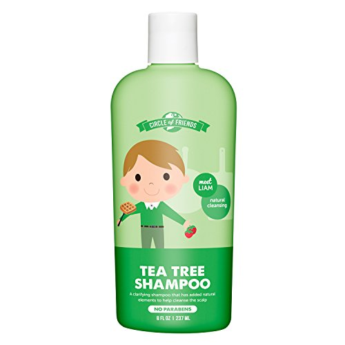 Circle of Friends Liam's Tea Tree Shampoo, 8 Fluid Ounce Circle Oil