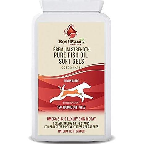 Best Paw Nutrition - Omega 3 6 9 cápsulas de Aceite de Pescado ...