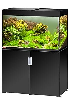 Eheim Incpiria 300 En Noir Aquarium Complet Avec Meuble Et