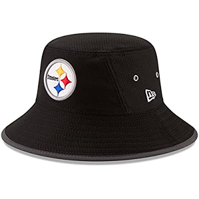 Pittsburgh Steelers New Era 2017 Training Camp Official Bucket Hat - Black