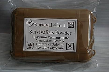 Nueva 30 g de permanganato en un recipiente impermeable Plus New 30 g Potasio permanganato en un recipiente impermeable: Amazon.es: Deportes y aire libre