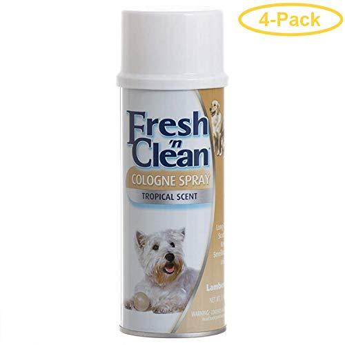 Fresh N Clean Cologne Spray - Tropical Scent 12 oz - Pack of 4 by Fresh N Clean