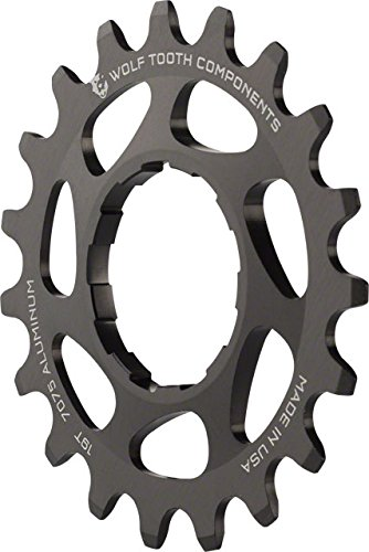 Wolf Tooth Components Single Speed Aluminum Cog: 19T