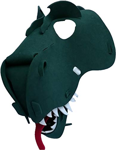 Tyrannosaurus - T-Rex Mask - Light, Comfortable, and Adjustable to Any Size -