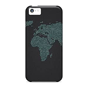 High Quality World Of Dots Skin Cases Covers Specially Designed For Iphone - 5c