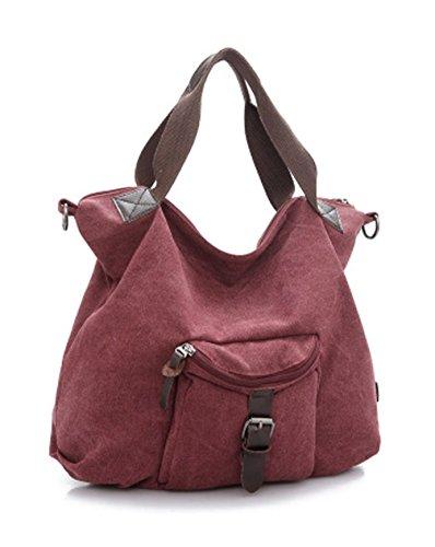 Keshi Leinwand neuer Stil Damen Handtaschen, Hobo-Bags, Schultertaschen, Beutel, Beuteltaschen, Trend-Bags, Velours, Veloursleder, Wildleder, Tasche Lila