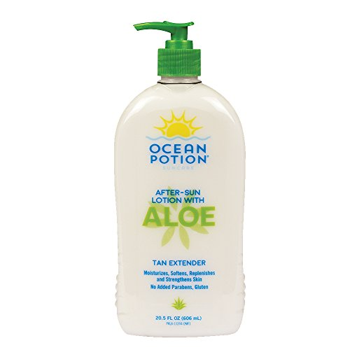 Ocean Potion After-Sun Lotion with Aloe, 20.5 Ounce