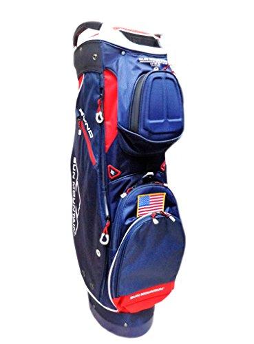 Sun Mountain 2018 Sync Golf Cart Bag - Red-Navy-White