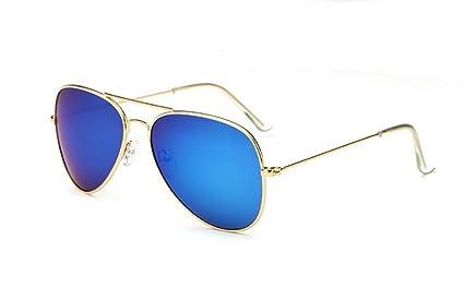 WYJL Gafas de Sol Gafas de Sol polarizadas de Las Señoras/Espejo de la Lente
