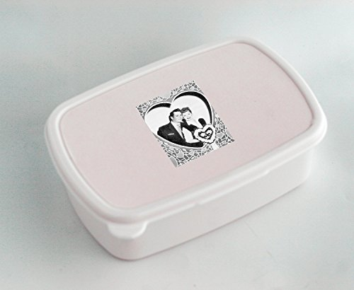 Used, White lunch box with I Love Lucy for sale  Delivered anywhere in USA