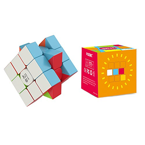 Price comparison product image Speed Cube - the Amazing Smart Cube [IQ Tester] 3x3 - Anti Stress for Anti-anxiety Adults Kids - Best Rubix Puzzle Toy [Better than Rubiks Cube] Turns Quicker and More Precisely Than Original