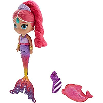 Fisher-Price Nickelodeon Shimmer & Shine, Rainbow Shimmer Mermaid: Toys & Games