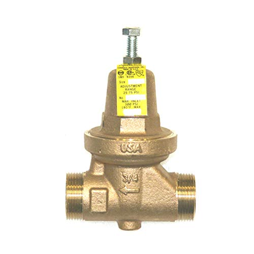 Mr Steam 104198 - Pressure reducing valve with balanced piston design has an internal thermal expansion by-pass, corrosion resistant sealed bronze body and bonnet, and an integral SS strainer. ()