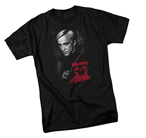 Warner Bros. Draco Malfoy Bust - Harry Potter Adult T-Shirt, XX-Large